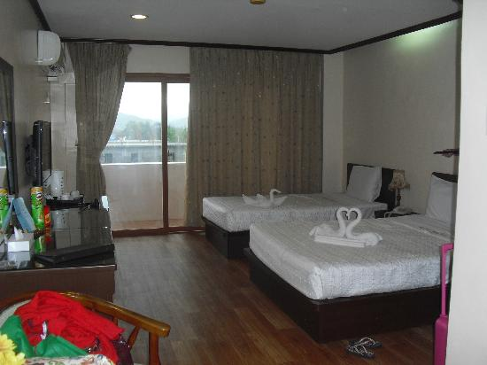 Vista Marina Hotel: Our room on the 3rd flr