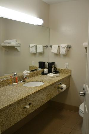 La Quinta Inn & Suites Visalia/Sequoia Gateway: Baño