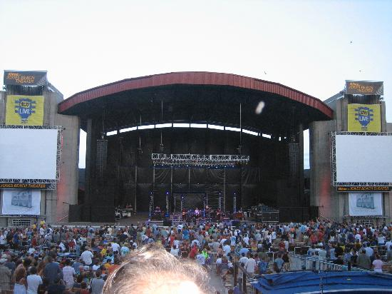 Nikon Theater At Jones Beach The Stage