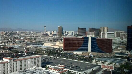 Palms Casino Resort: view from our room