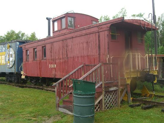 Alaska Museum of Transportation and Industry : Example of old train