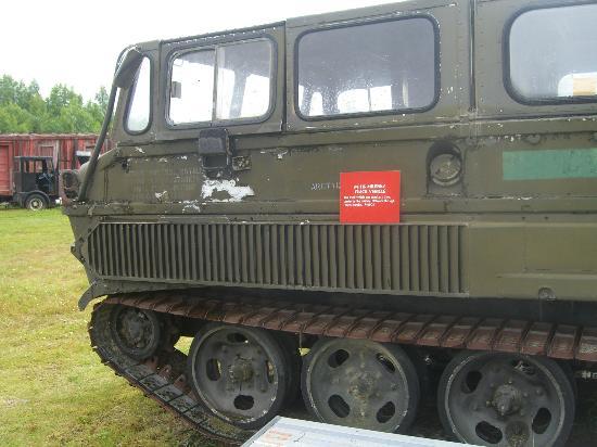 Alaska Museum of Transportation and Industry : Tank