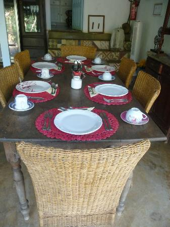Beijupirá Lodge Noronha: desayuno