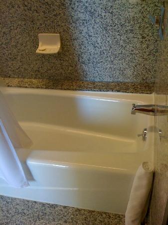 Le Meridien San Francisco: bathtub with room for improvement