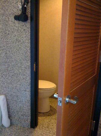 Le Meridien San Francisco: private toilet space