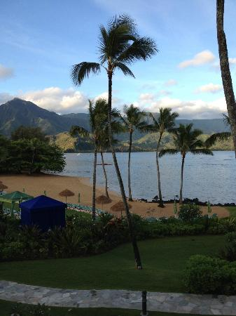 St. Regis Princeville Resort: The beautiful view from our room