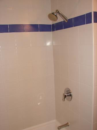 Jet Park Hotel Rotorua: Shower