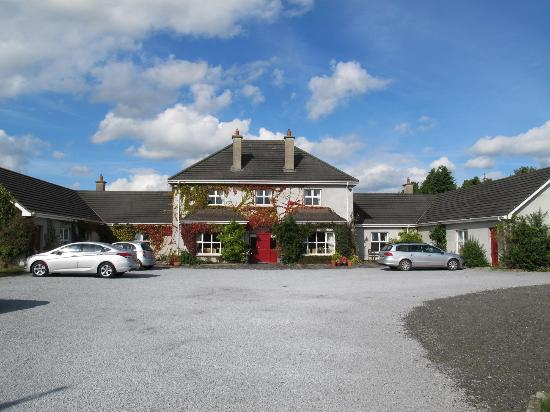 Adare Country House and parking area