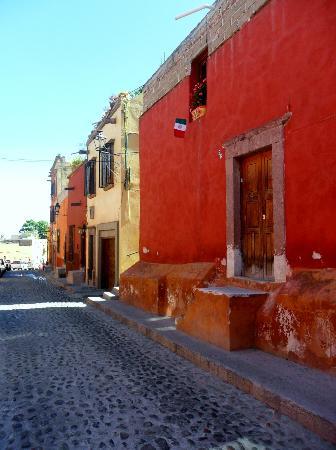 Posada Real de la Cruz: calle de barranca, centro