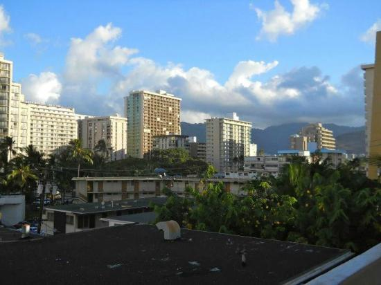 Stay Hotel Waikiki: city view from the hotel