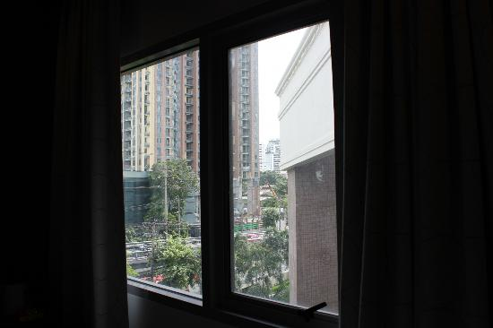 FX Hotel Metrolink Makkasan: From the room.