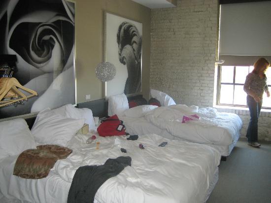 Hotel Ignacio: Comfy beds