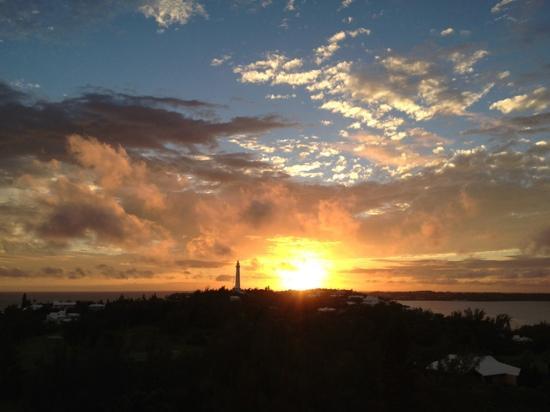 Fairmont Southampton: Sunset