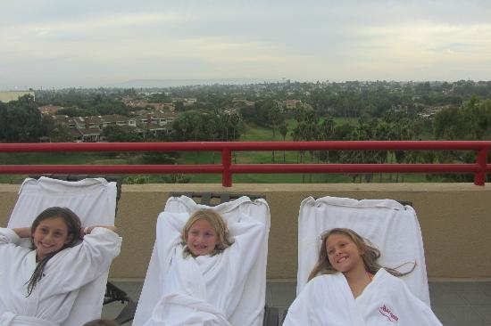 Westdrift Manhattan Beach, Autograph Collection: Three robes sent to room for girls to use.