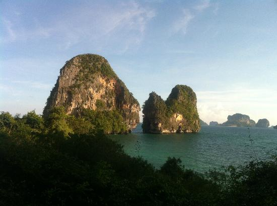 Sand Sea Resort: View from Caves on Phra Nang Beach
