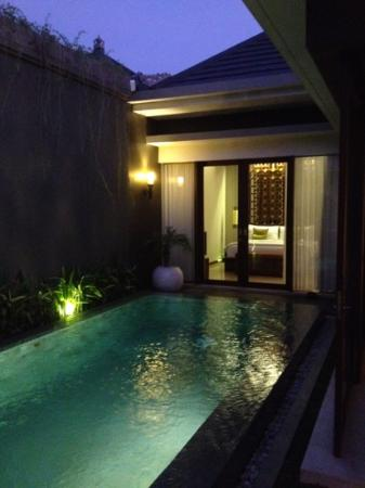 Seminyak Icon: night time
