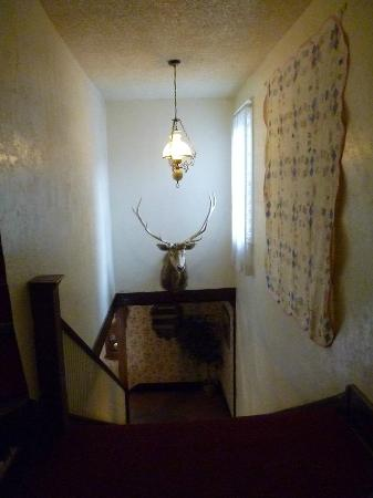 Elkhorn Lodge and Guest Ranch: stairway