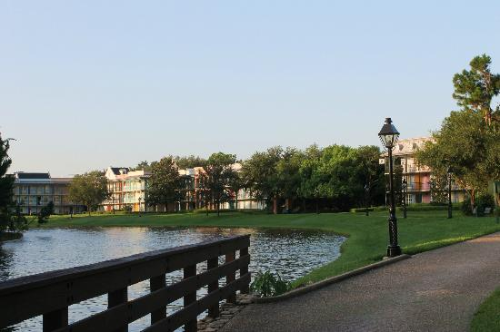 Our Garden View Room Included Views Of The River Picture Of Disney 39 S Port Orleans Resort