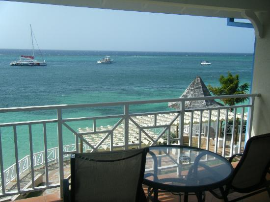 Sandals Montego Bay: My balcony view