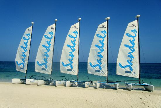 Sandals Montego Bay: Watersports included!...so fun