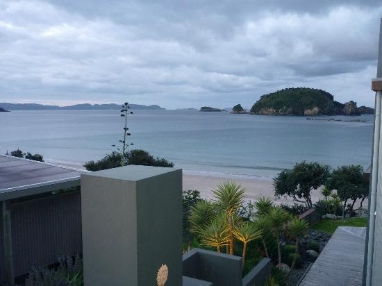 Hahei Oceanfront: View from the Bedroom Window 