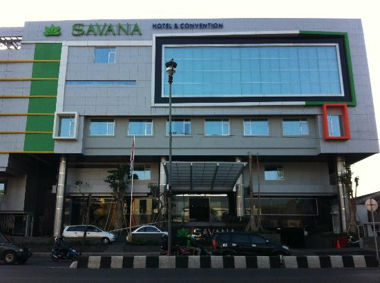 Savana Hotel & Convention: Front