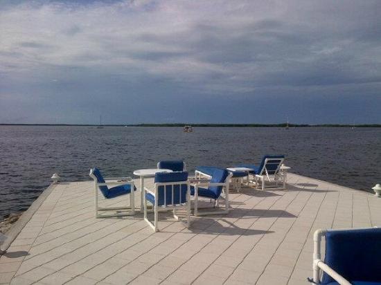 Largo Resort: gulf view