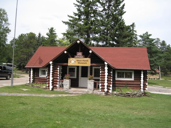 Manitoba, Kanada: Campground office
