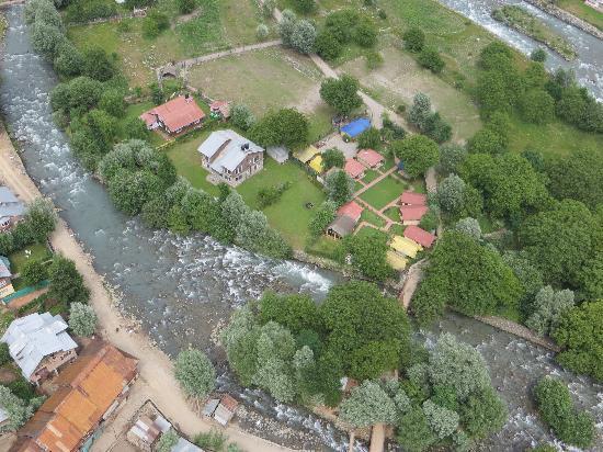 Island Resort an Aerial View.