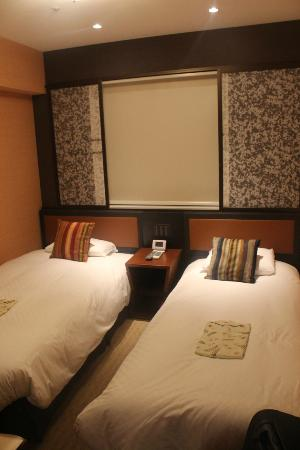 Hearton Hotel Kitaumeda: Twin beds