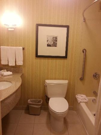 Hilton Garden Inn Sacramento Elk Grove: Bathroom