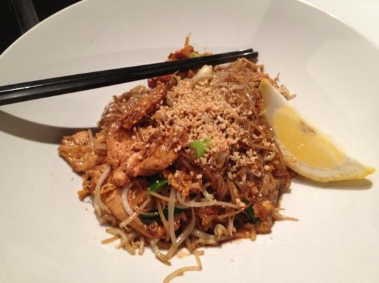 Cafe de Siam: Pad Thai chicken