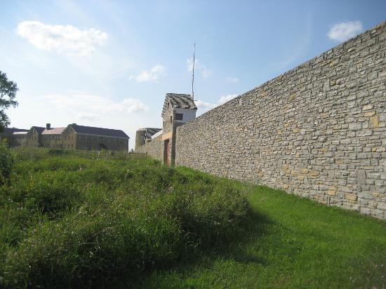 Fort Snelling State Park: Front Wall