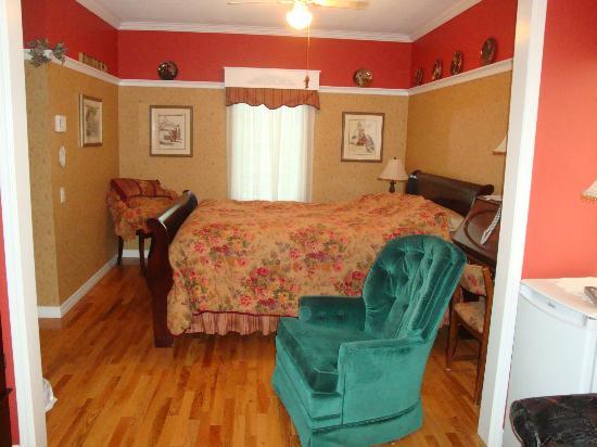 Cote's Bed & Breakfast: bedroom