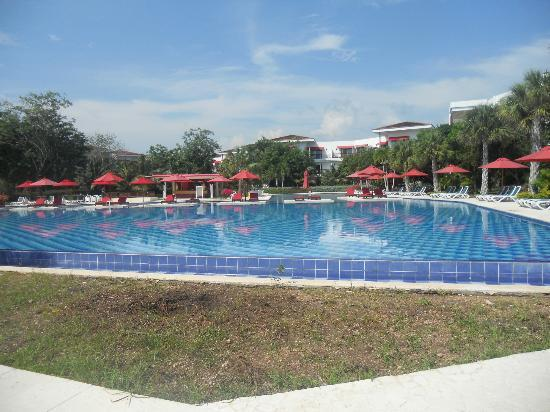 Decameron Baru: Pool area