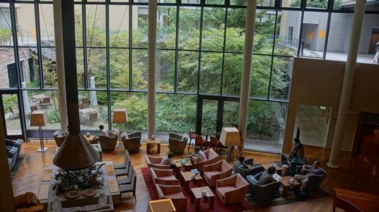 "Hyatt Regency Hakone Resort and Spa: Hotel's ""Living Room"""