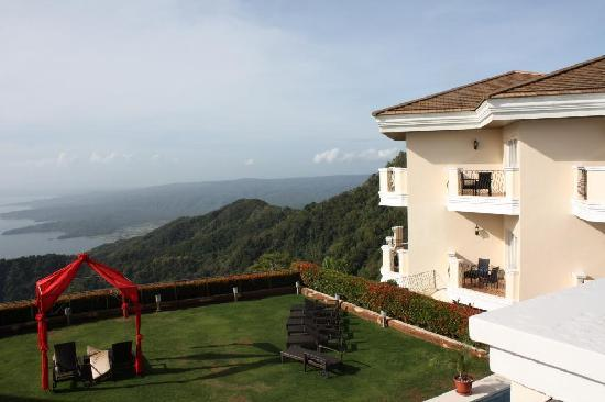 The Lake Hotel Tagaytay: right view from room
