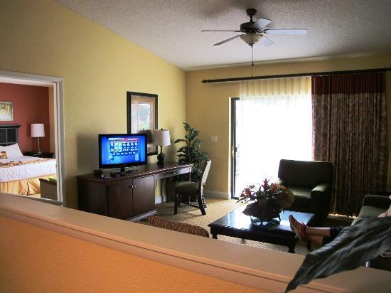 Holiday Inn Club Vacations Orlando - Orange Lake Resort: Living Room