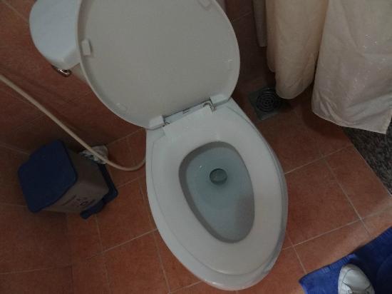 Cam Do Hotel: la lunette des wc cassée