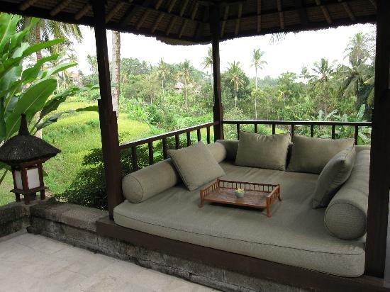Kedewatan, Indonesien: Garden suite patio/cabana
