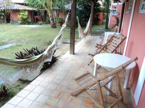 Arraial Praia Hotel Pousada: vista de la hab