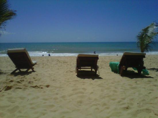 Arraial Praia Hotel Pousada: playa troncoso