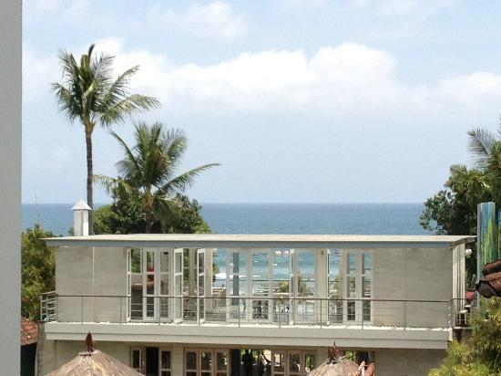 Radisson Bali Legian Camakila: view from top floor room, outside room 2502