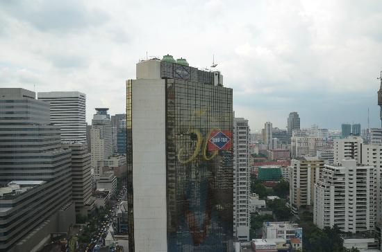 Pullman Bangkok Grande Sukhumvit: The view out of our room
