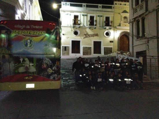 Pension Bonifaz Hotel: Frente al Hotel