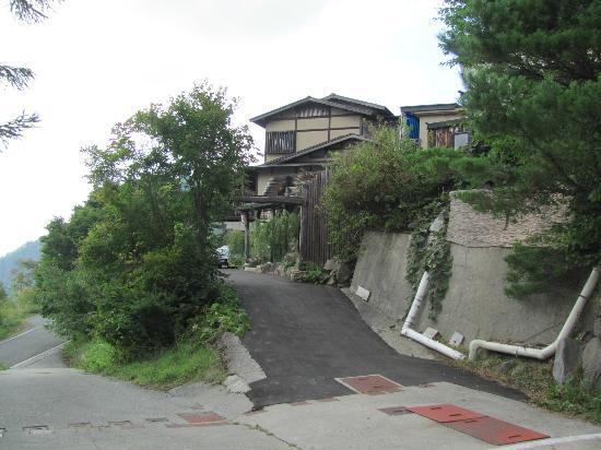 Manzanso : 満山荘の入り口です。