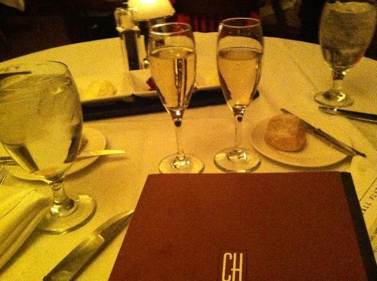 Geneva ChopHouse: Anniversary champagne