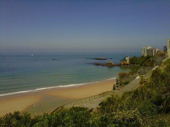 Côte des Basques : costa anglet-biarritz