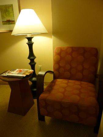 One Washington Circle Hotel: Little reading nook. Very comfy.