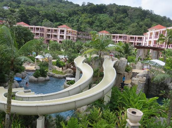 Centara Grand Beach Resort Phuket: Water slide and river for tubing